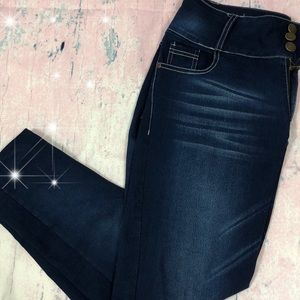 Pants - Navy blue denim Jeggings